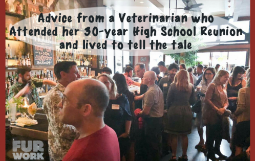 30 year High school reunion attended veterinarian advice